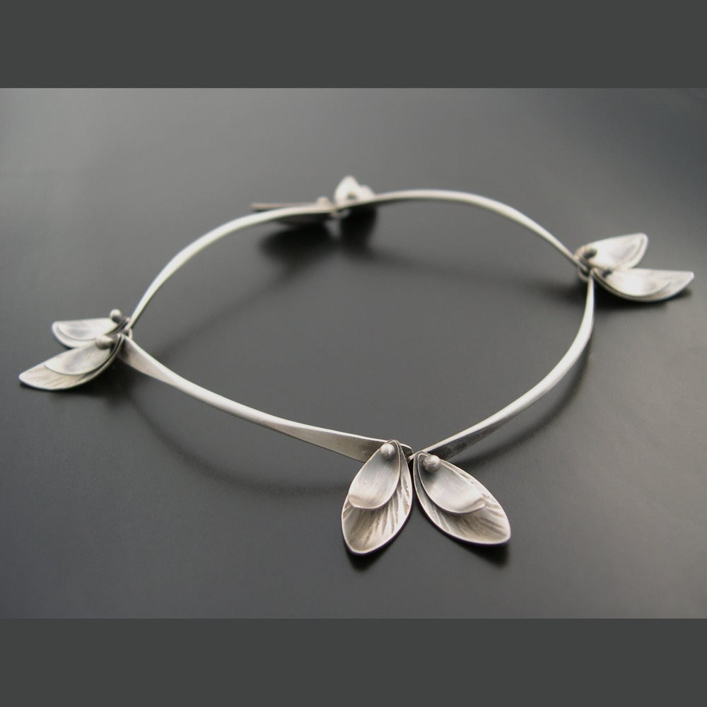 Image of Bamboo Bracelet - Skinny Leaves