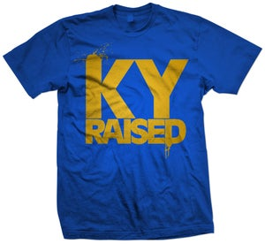 Image of KY Raised in KY Blue and Gold