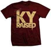 Image of Ky Raised in Crimson and Cream