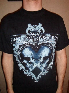 "Image of Kingdom Of Sorrow ""Buried In Black"" short sleeve or LS t-shirt"