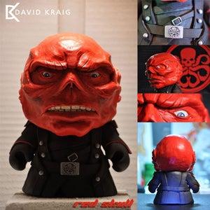"""Image of Red Skull 7"""" Kidrobot Munny"""
