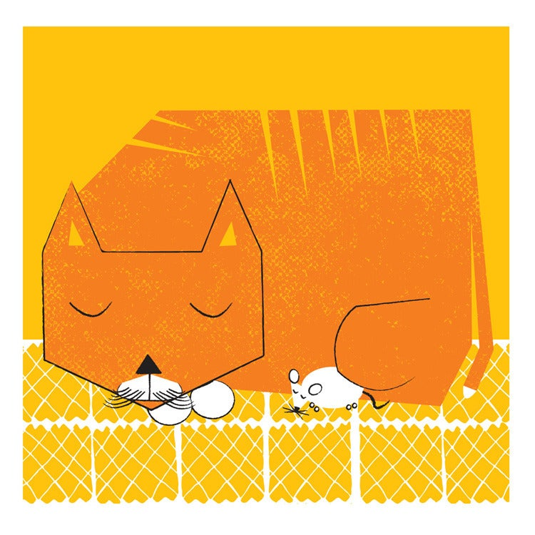 Image of Naptime Art Print