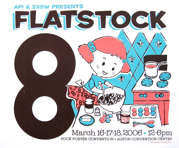 Image of Flatstock 8 Poster Exhibition