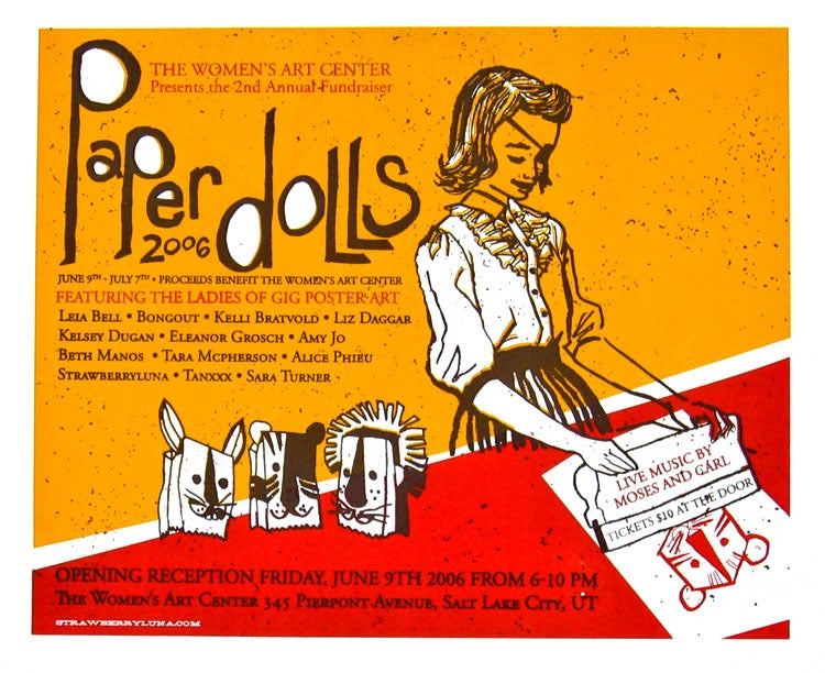 Image of Paper Dolls Exhibition Poster