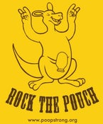 Image of Rock the Pouch T-Shirt (Gold)