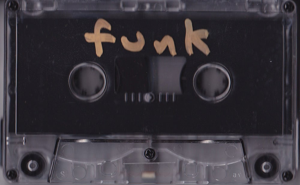 Image of CSC Funk Band cassette issued by Mass Dist