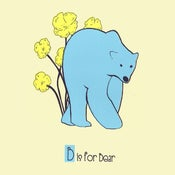 Image of B is for Bear Alphabet Print