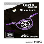 "Image of ""The Handlebar Shirt""  Boys & Girls  Model:HBG"