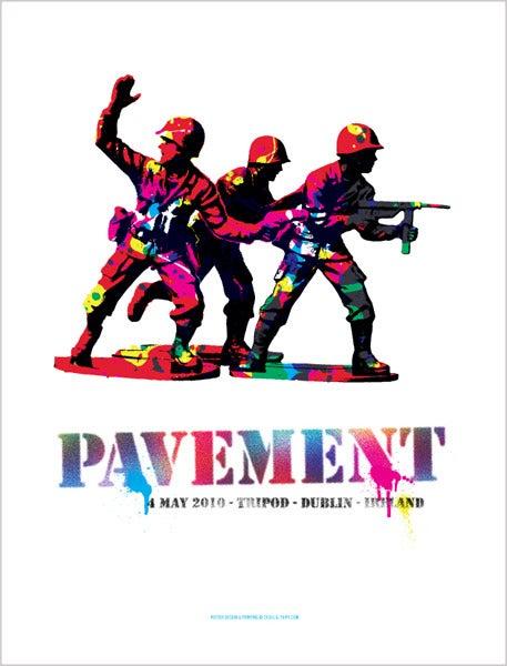 Image of Pavement - Dublin 2010