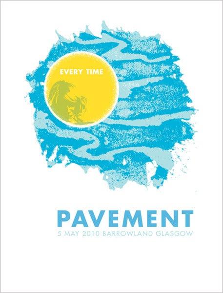 Image of Pavement - Glasgow 2010