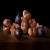 Image of Donut peaches and Prune plums