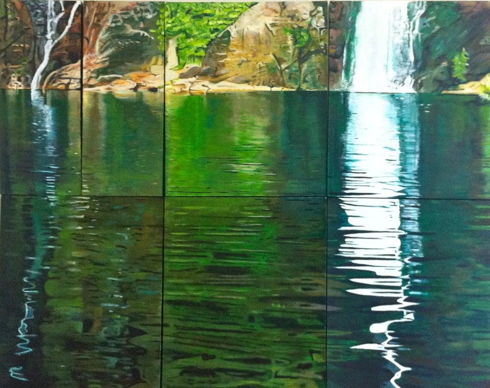 Image of Revive - Set of 7 Original Oil Paintings