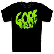 Image of Gore Noir Lime Green Logo Mens & Womens Shirt IN STOCK