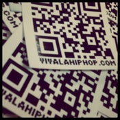 Image of VIVA LA QR CODE STICKERS (Set of 5)