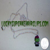 Image of Zombie Kitty necklace