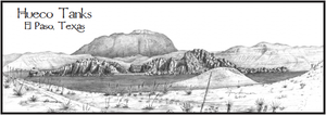 Image of Hueco Tanks Print