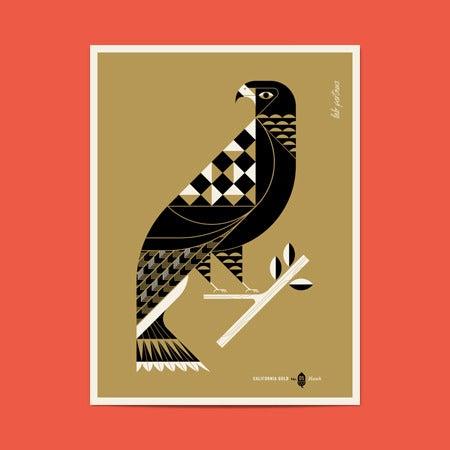 Image of California Gold No.5 - Hawk