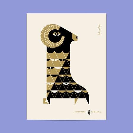 Image of California Gold No.3 - Big Horn Sheep