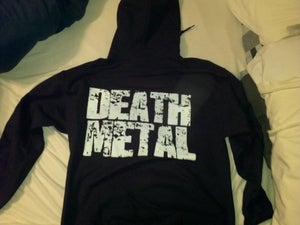 Image of Death Metal Hoodie