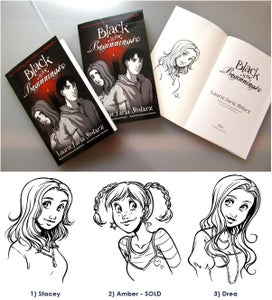 """Image of Signed Graphic Novel """"Black is for Beginnings"""""""