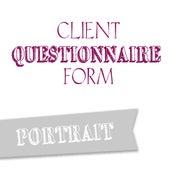 Image of Portrait Questionnaire Form