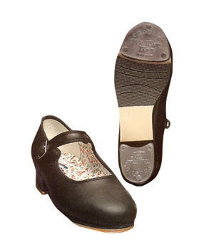 Image of Capezio Leather Mary Janes 3800