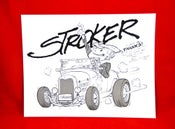Image of Limited Edition Stroker Model A Poster