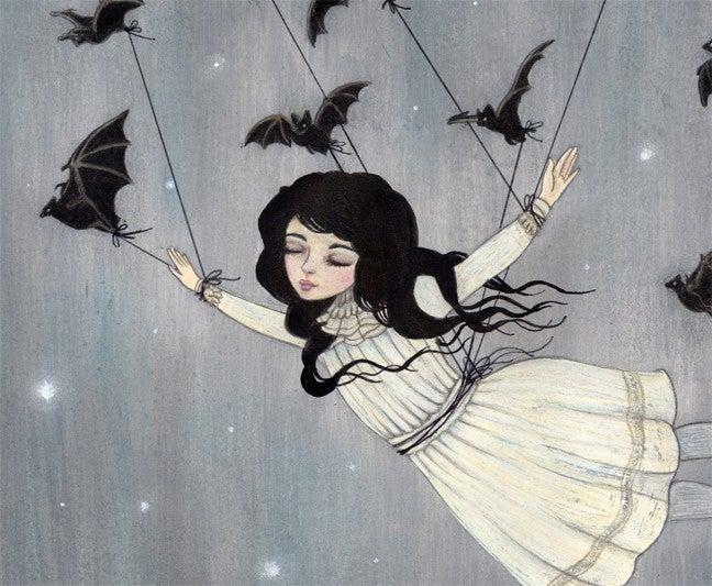 Image of Taken by Bats 10x8 print