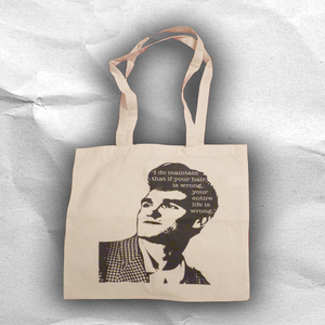 Image of What Morrissey Said Tote Bag