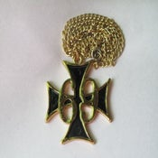Image of 69 Iron Cross Necklace