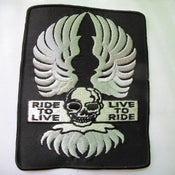 Image of HD Ride to live live to ride patch