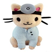 Image of Doctor Cat Plush **PREORDER**