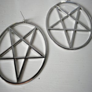 Image of Pentagram earrings