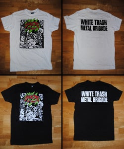 Image of White Trash Metal Brigade shirt