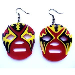 Image of Lucha Libre Earrings