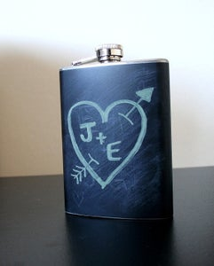 Image of Chalkboard Flask