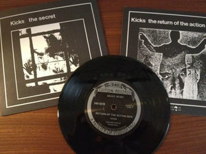 "Image of Kicks ""the Secret/Return of the Action Men"" 7"""