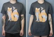 Image of Fox & Bird Tee shirt