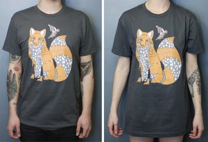 Image of Fox & Bird Tee shirt