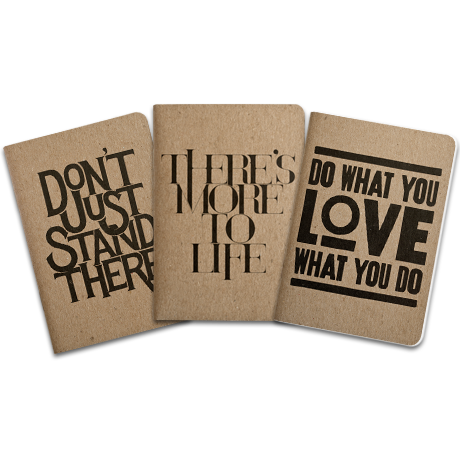 Image of MINI SKETCHBOOKS - PHRASES<br/> (SET OF 3)