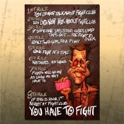 Image of Fight Club - RULES