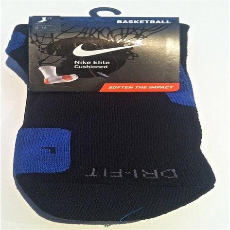 Custom nike elite socks black blue for Custom elite