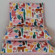 Image of Retro Zoo Animals Cushion