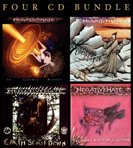 Image of Negativehate 4 CD Bundle