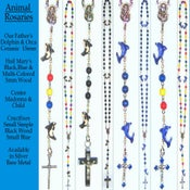Image of Animal Rosaries Dolphin, Orca, Panda, Penguin, Sheep, Ladybug