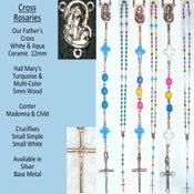 Image of Cross & Angel Rosaries