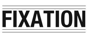 Image of Vinyl Fixation Frame Sticker BLACK
