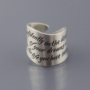 Image of Thoreau Wrap Ring - MADE TO ORDER