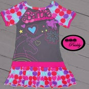 Image of **SOLD OUT** Barbie with Unicorn Dress - Size 5T/6