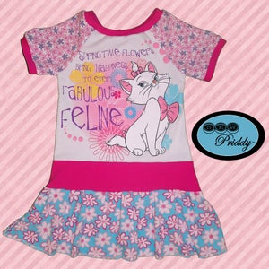 Image of Aristocats Springtime Marie Dress - Size 3T/4T